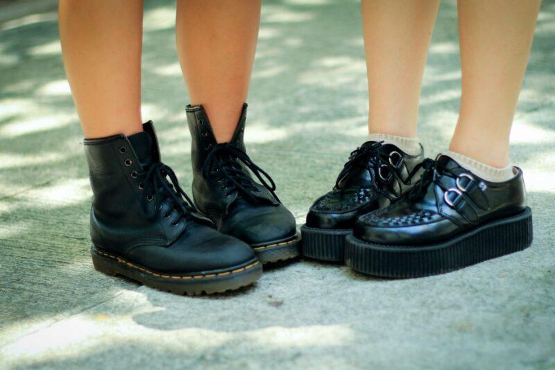 おそろいの靴